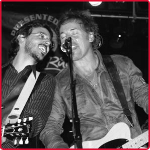Jorge Otero y Bruce Springsteen